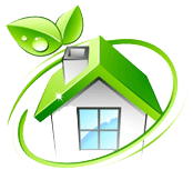 Green, mold-free home - We use a healthy mold solution - Vero Mold Remediation - Vero Beach, FL